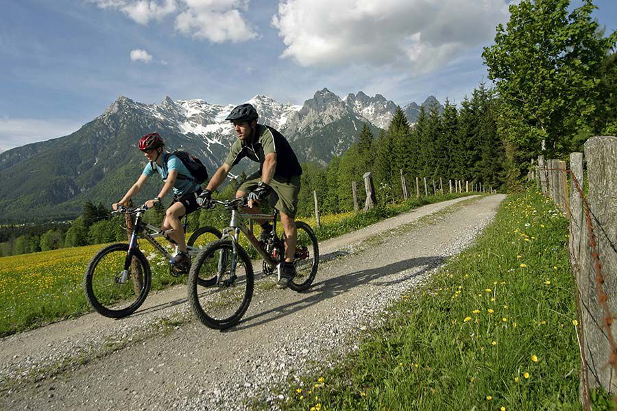 Mountainbiken in St. Ulrich